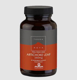 Terranova Fresh Freeze Dried Artichoke Leaf 250mg 50 Capsules