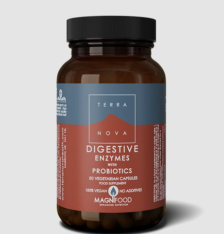 Terranova Digestive Enzymes with Probiotics
