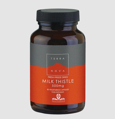 Terranova Freeze Dried Milk Thistle 500mg