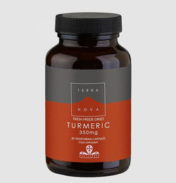 Terranova Freeze Dried Turmeric 350mg 50 Capsules