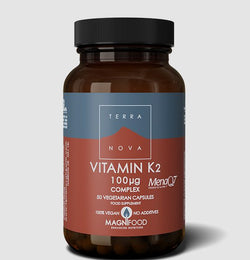 Terranova Vitamin K2 (as MenaQ7®) 100µg Complex
