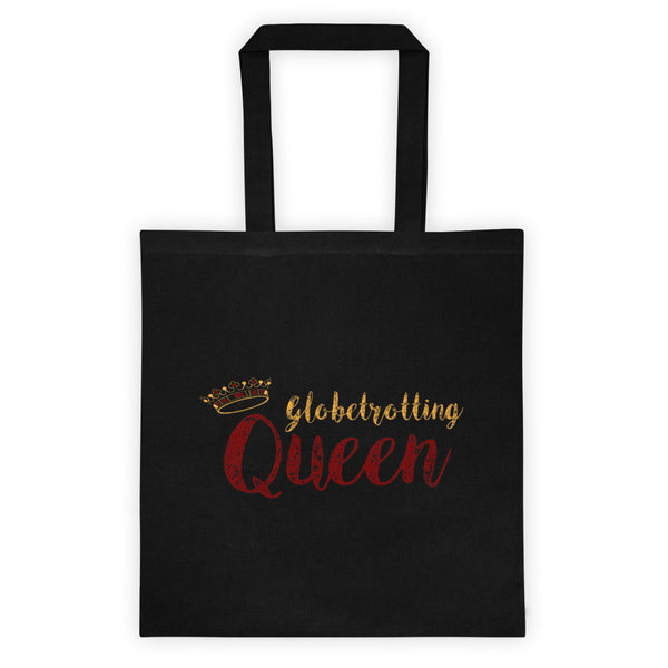 Maroon/Gold Globetrotting Queen Tote bag