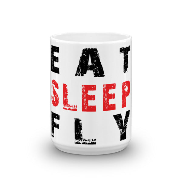 Eat, Sleep, Fly Mug