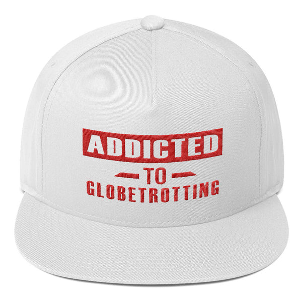 Addicted to Globetrotting Cap