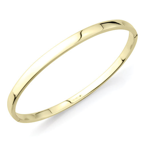9ct. Yellow Gold Bangle