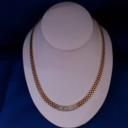 18ct Cleopatra Necklace