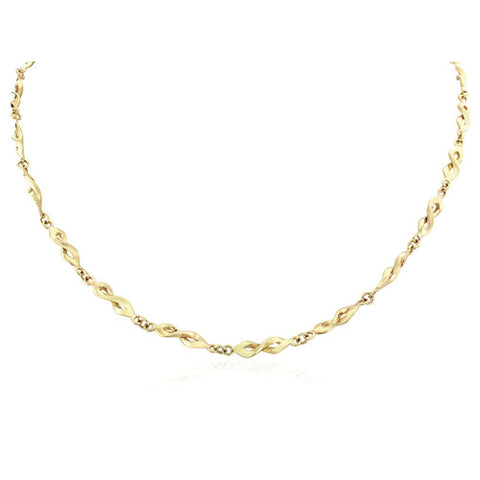 "9ct. Fancy Necklace 17""/43cm"