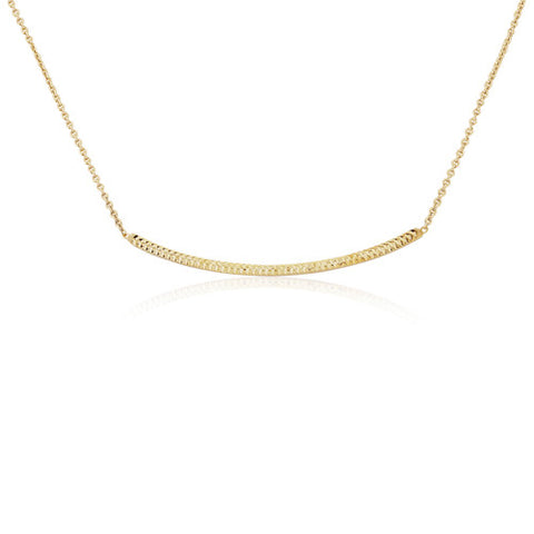 "9ct. Fancy bar Necklace 17""/43cm"