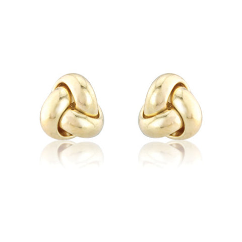 9ct. Knot Earrings