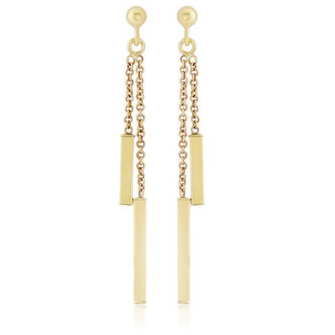 9ct. Drop Earrings