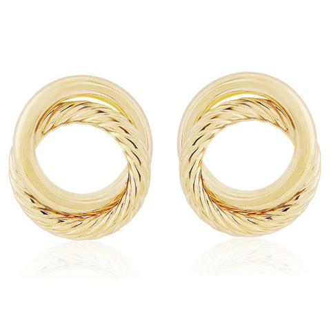 9ct. Fancy Stud Earrings