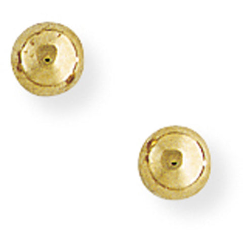 9ct. 4mm Ball Stud Earrings