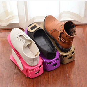 Space Saving Shoe Storage Rack