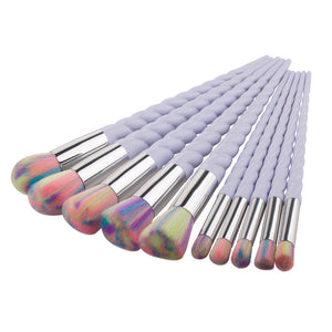 Unicorn Makeup Brush Set 10PCS