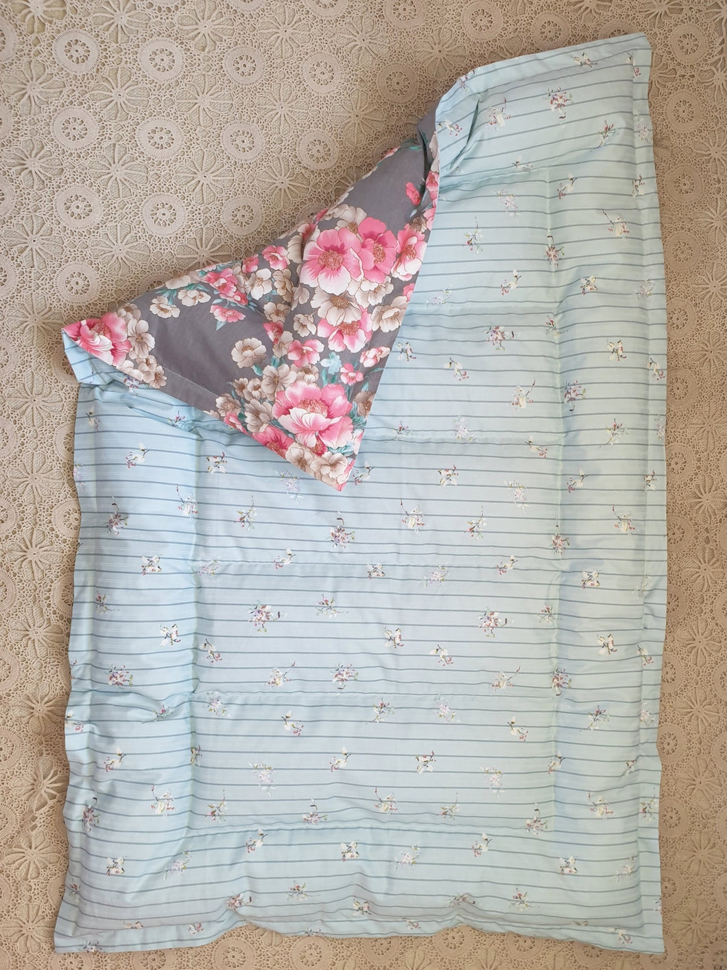 Floral Mini Eiderdown - IN STOCK #20402