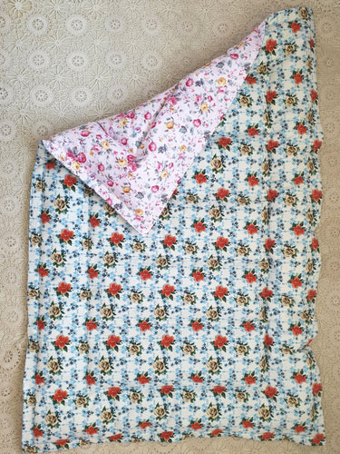 Floral Mini Eiderdown - IN STOCK #20403