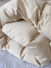 Satin Champagne Eiderdown - Available in other colours