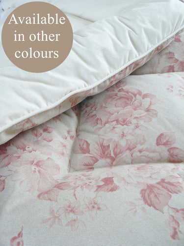 Faded Roses Eiderdown - Available in other colours