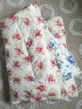 Pink & Blue Floral Mini Eiderdown - IN STOCK
