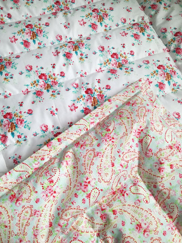 Floral & Paisley Mini Eiderdown - IN STOCK
