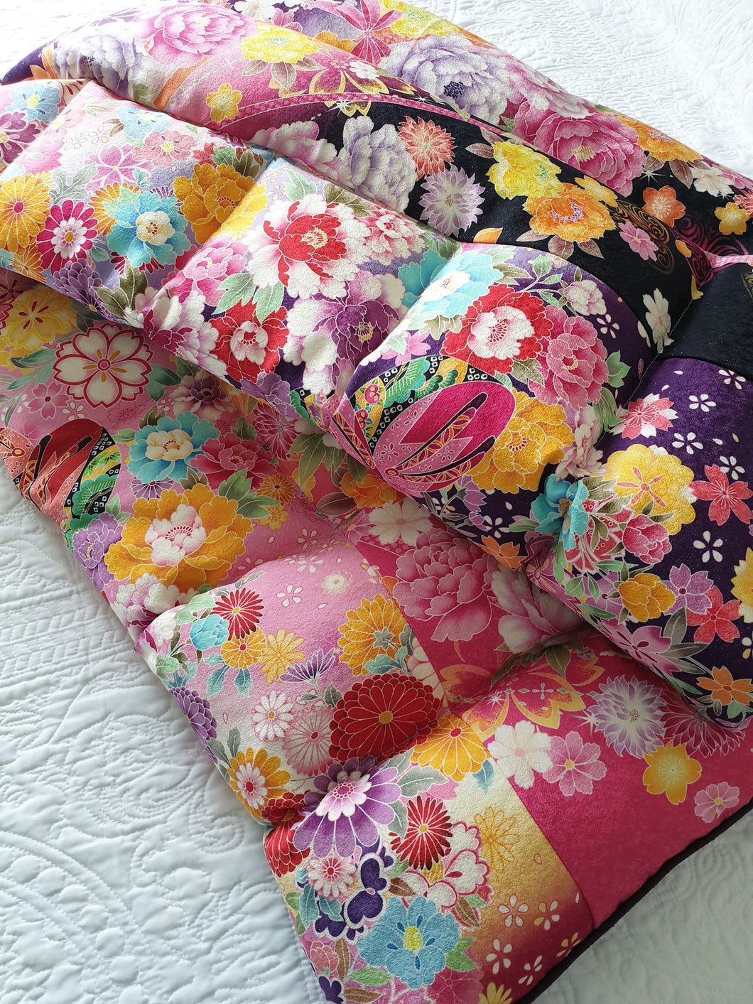 Silk Kimono SINGLE Eiderdown - IN STOCK