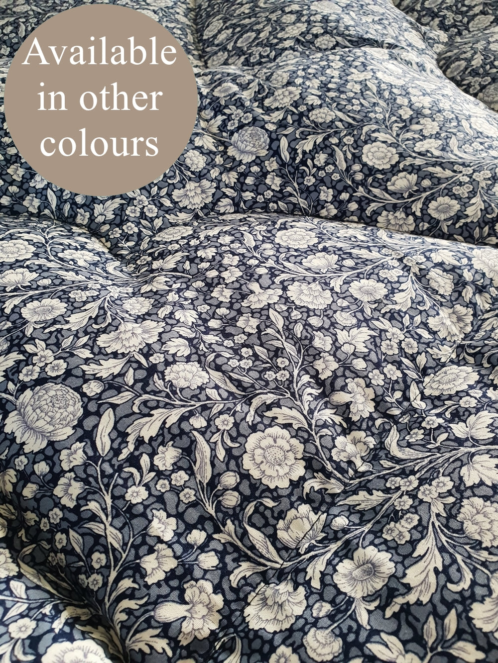 Classic Etched Floral Eiderdown