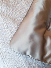 Grey 100% Silk Satin Eiderdown