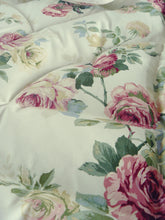 Pale Yellow Roses SINGLE Eiderdown - IN STOCK