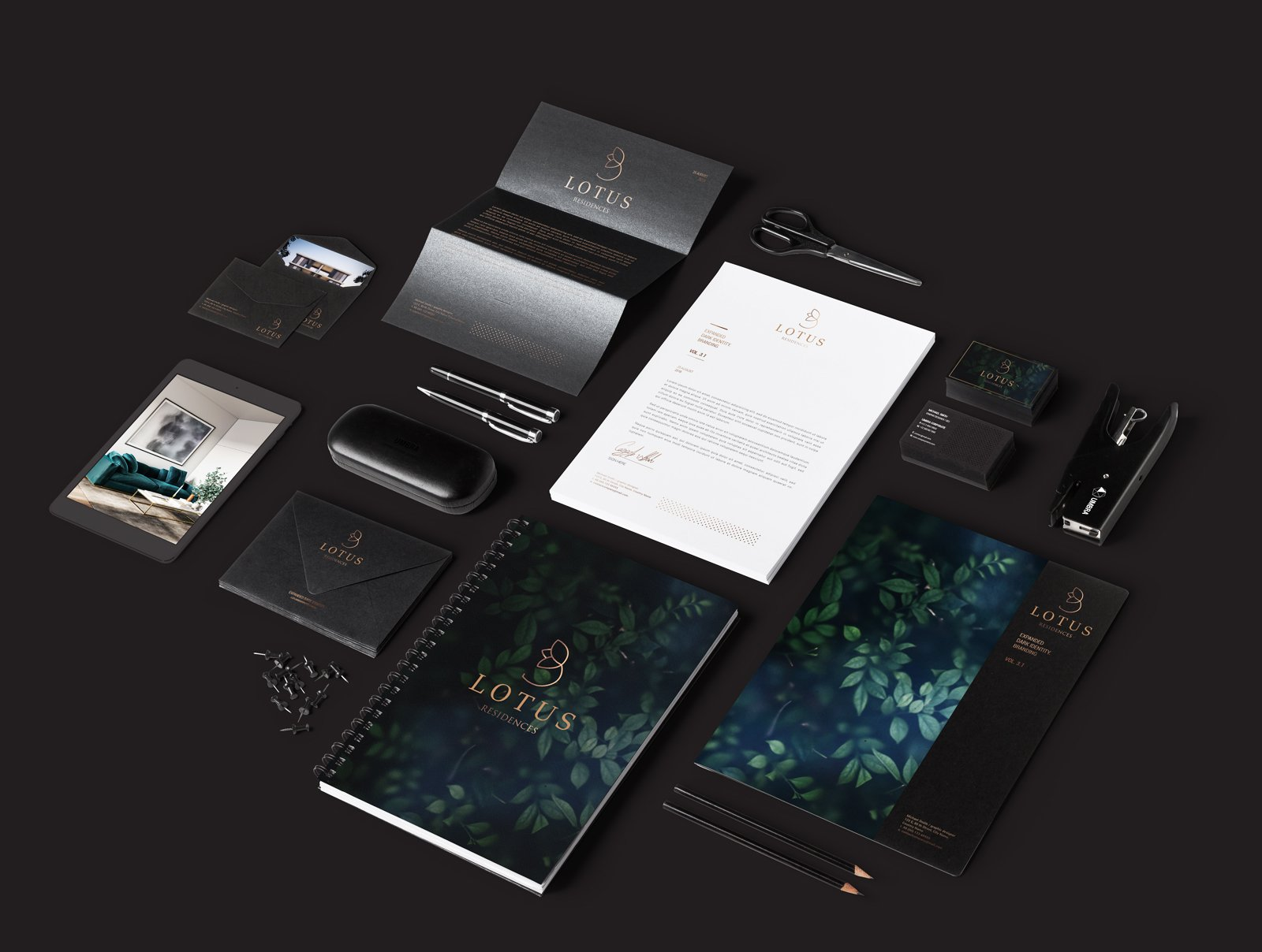 Brand identity design for real estate agency Australia