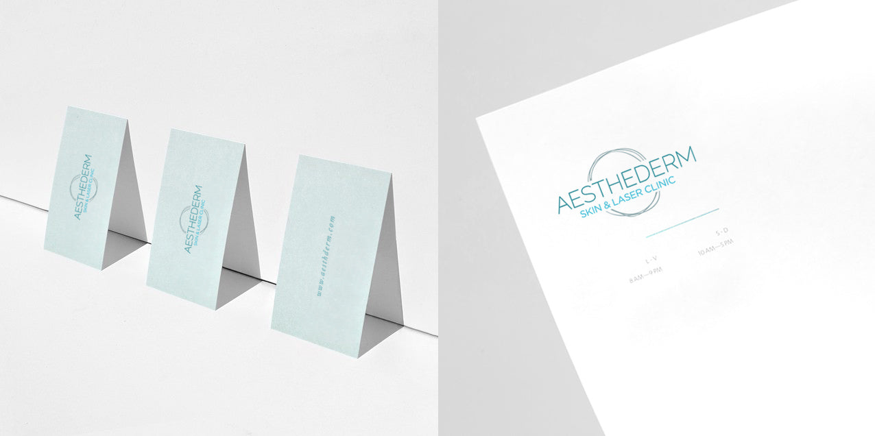 Logo design for skin clinic