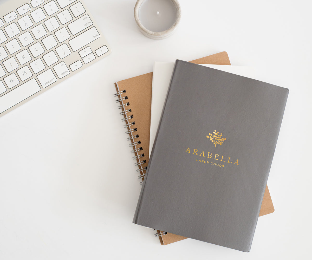 Branding for paper goods company Arabella