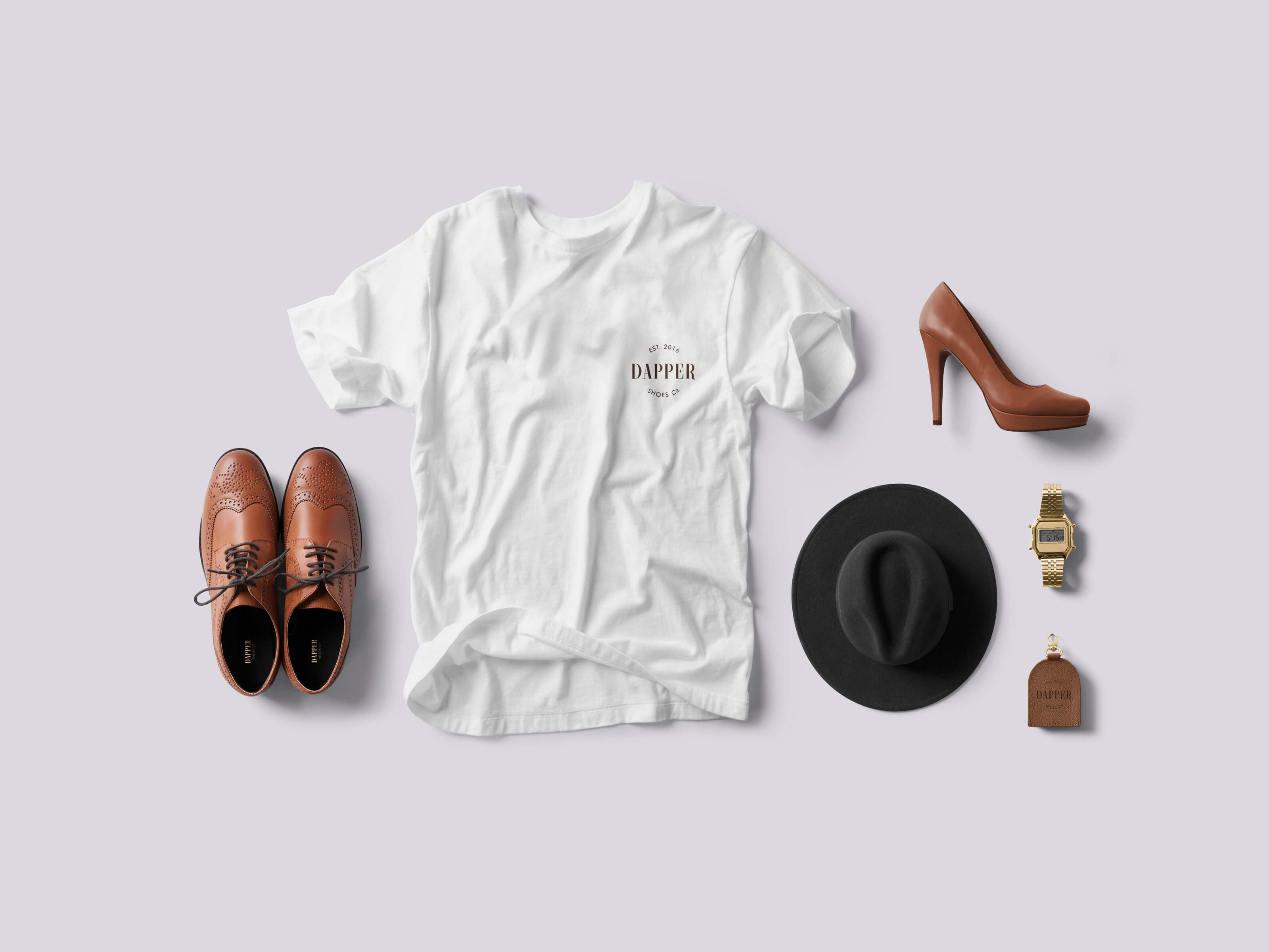 Logo Design for Dapper Shoes
