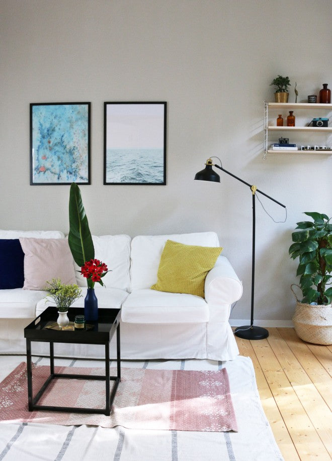 Anna's Living Room Makeover With Our Art Prints!