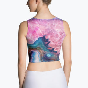 Agate Sublimation Crop Top