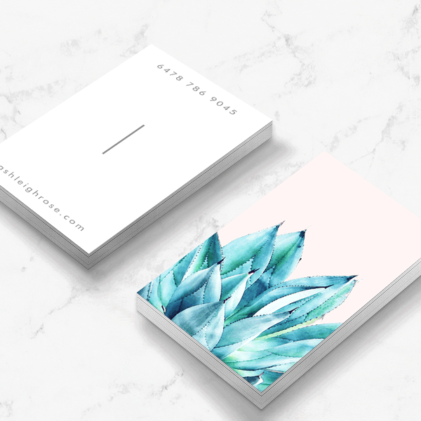 Agave Vibe Business Card Template