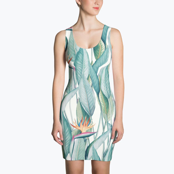 Back to Paradise Island Sublimation Dress