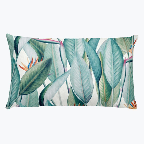 Back to Paradise Island Rectangular Pillow