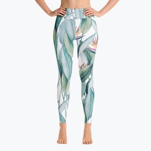 Back to Paradise Island Yoga Leggings