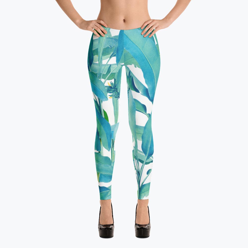 Banana Forest Leggings