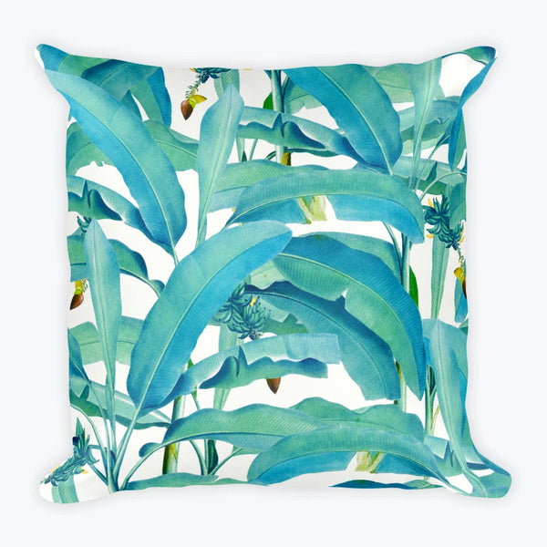 Banana Forest Square Pillow