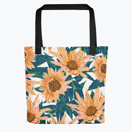 Blush Sunflowers Tote bag