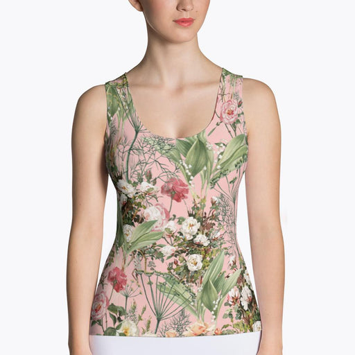 Botanic Sublimation Tank Top