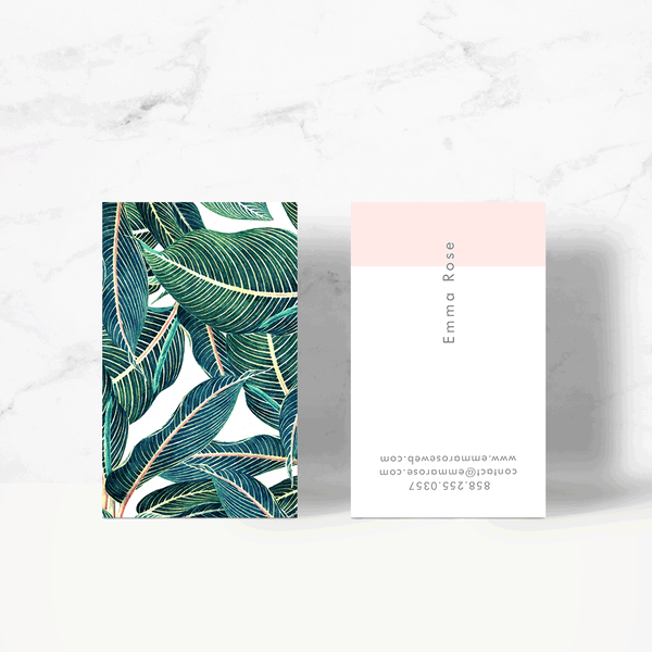 Botanical-II Business Card Template