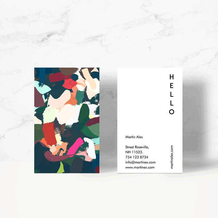 Brunch at Ti Amo's Business Card Template