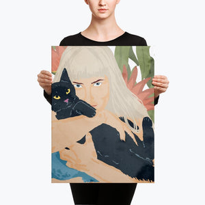 Cat Lady Canvas