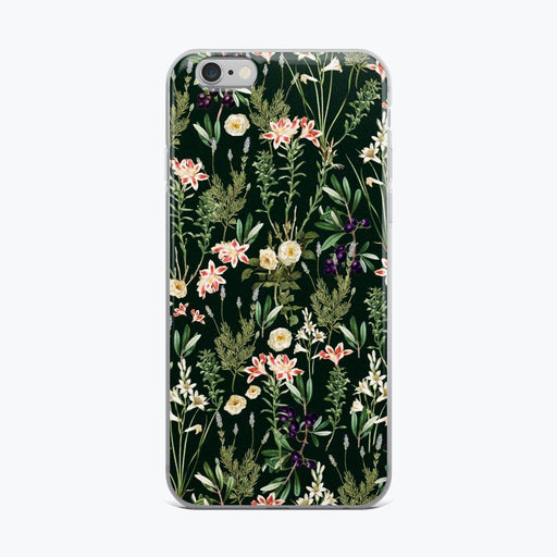 Dark Botanical Garden iPhone Case