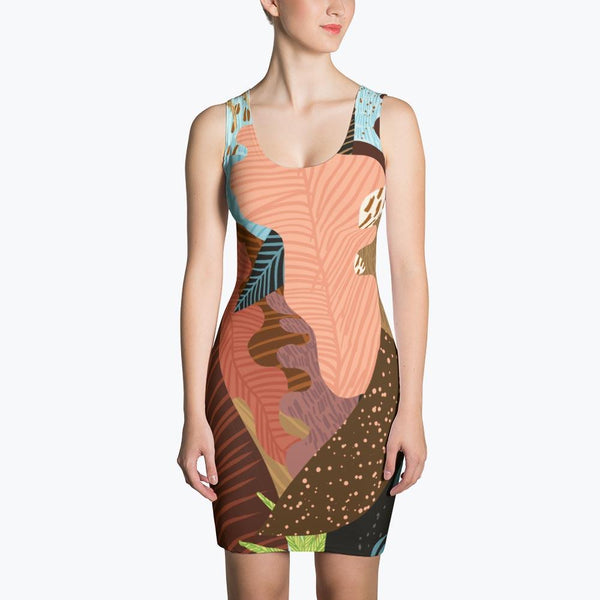 Earthy Forest Sublimation Dress