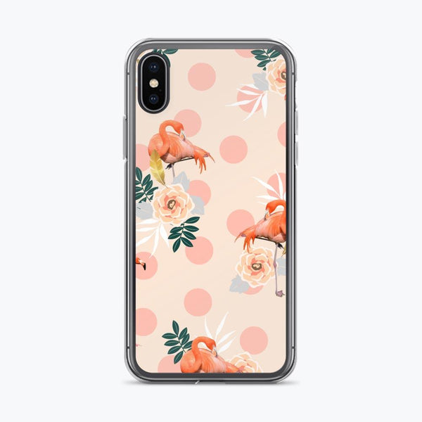 Flamingo Jazz iPhone Case