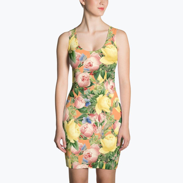 Flora Sublimation Dress