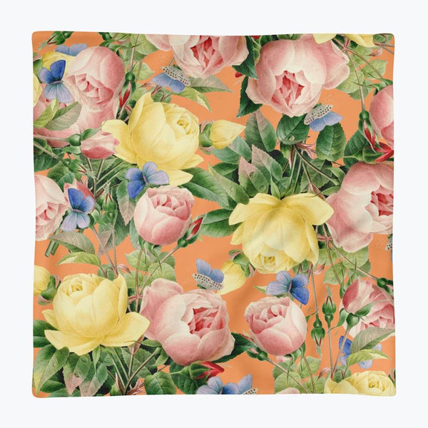 Flora Square Pillow Case only